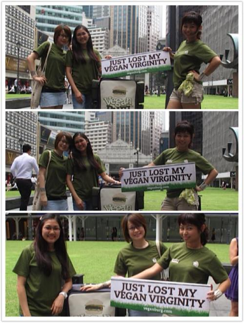 VB voucher giveaway at Raffles Place 1