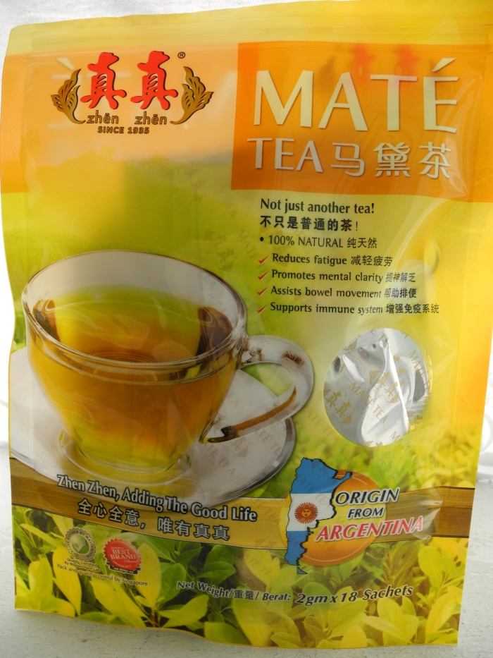 SGVegan_Zhen Zhen Mate Tea Packet