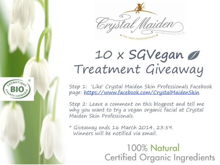 SGVegan Treatment Giveaway