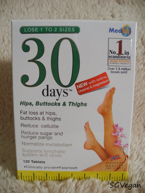 SGVegan_30days™ HBT Giveaway