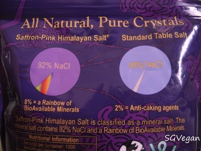 SGVegan_SJO 73 Himalayan Salt Comparison