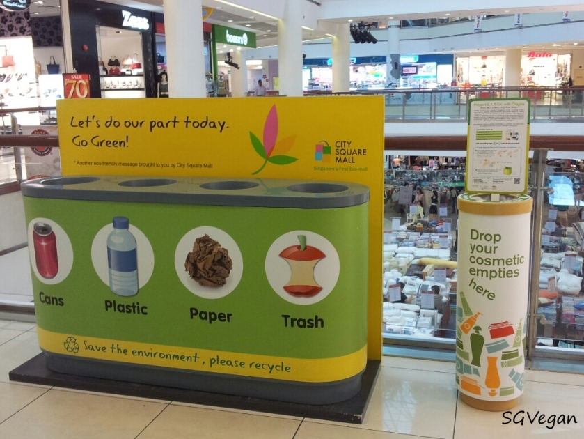 SGVegan_City Square Mall Recycling