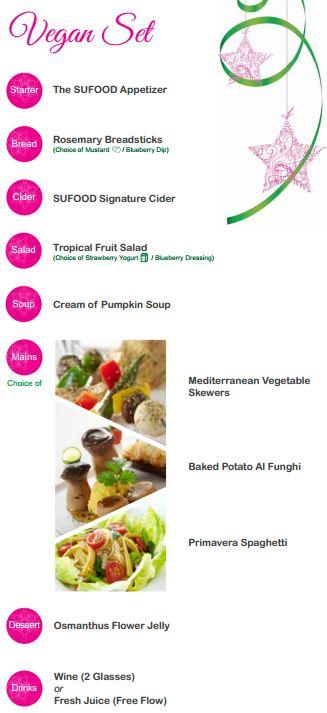 SGVegan_SUFOOD Festive Menu Vegan Set 2014