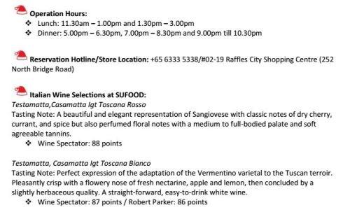 SGVegan_SUFOOD Italian Wine Selections