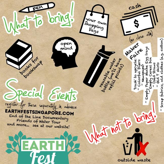 SGVegan_EarthFest Things to Bring