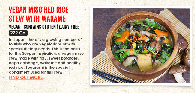 SGVegan_The Soup Spoon Miso Red Rice Stew with Wakame