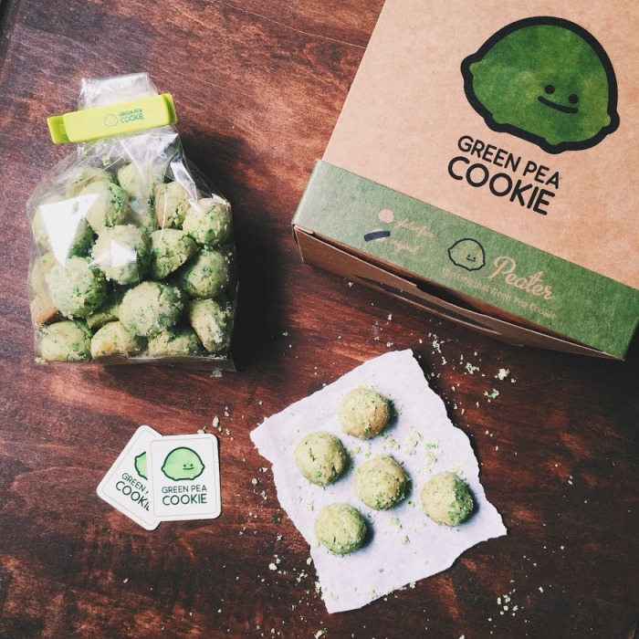 Green Pea Cookie, a successful Kickstarter campaign