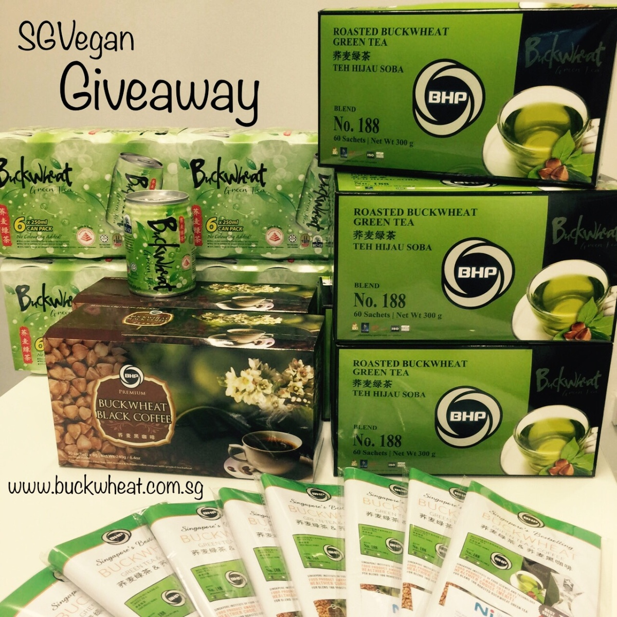 Winners for Roasted Buckwheat Green Tea andCoffee
