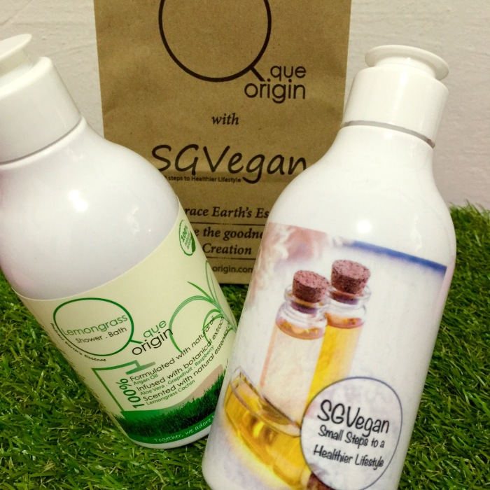 5 winners for Que Origin Shower Gel